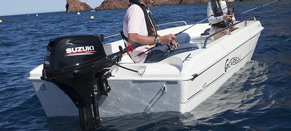 Picture of boat using DF20A/DF15A/DF9.9B